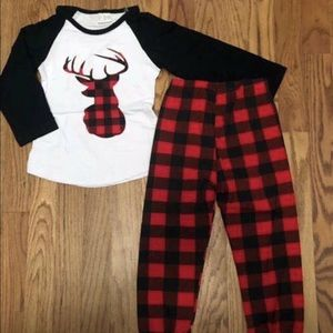 Other - Toddler boy buffalo plaid outfits.